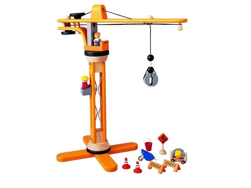 Plan Toys - Coffret Grue