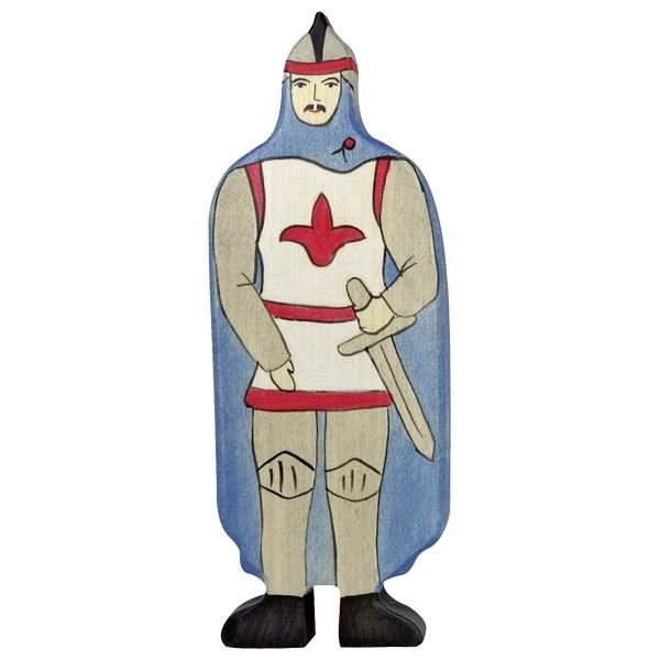 Holtztiger - Chevalier avec manteau bleu