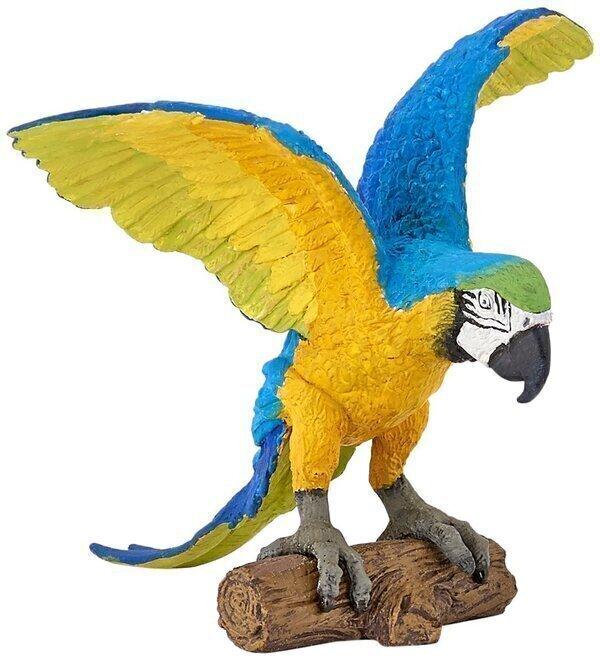 Papo - Perroquet Ara bleu