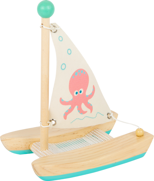 Small Foot - Jouet aquatique Catamaran Octopus