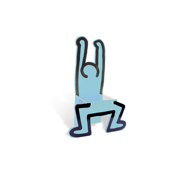 Vilac - Chaise Keith Haring bleue