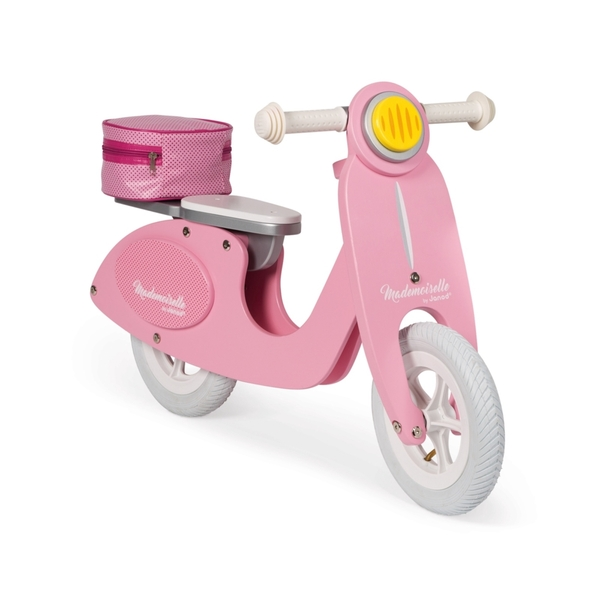 Janod - Draisienne Scooter Rose Mademoiselle