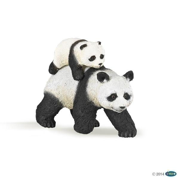 Papo - Panda et son bébé
