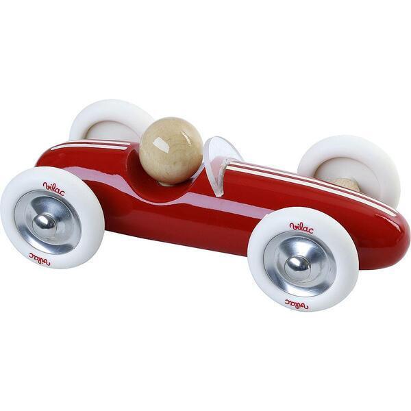 Vilac - Voiture Grand Prix vintage MM rouge