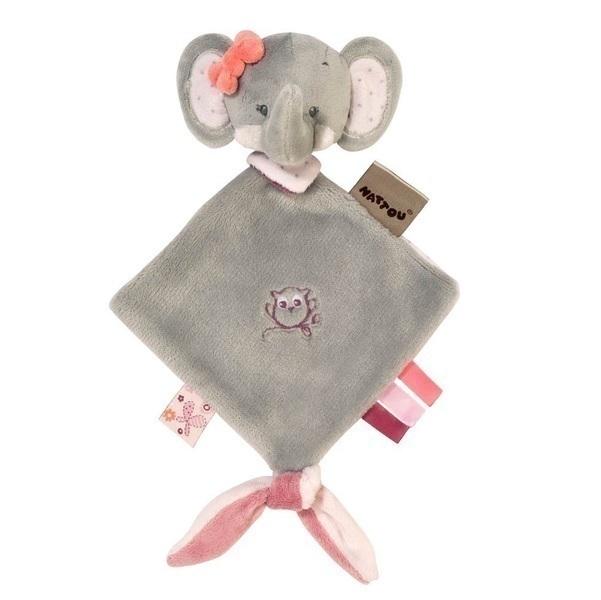 Nattou - Mini doudou Adèle l'éléphant