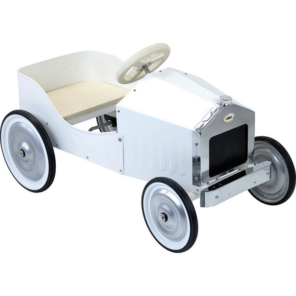 Vilac - Grande voiture à pédales ivoire