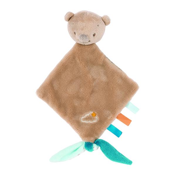 Nattou - Mini doudou Basile ours
