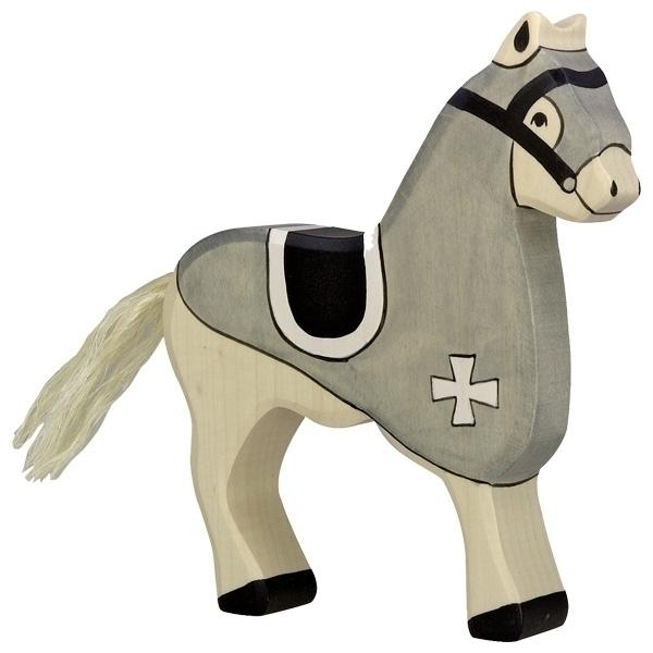 Holtztiger - Cheval du chevalier gris