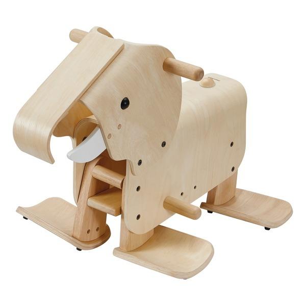 Plan Toys - Éléphant pour marcher