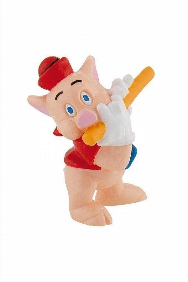 Bullyland - 3 petits cochons le flutiste