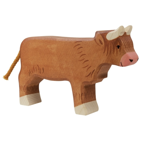 Holtztiger - Vache Higland cattle