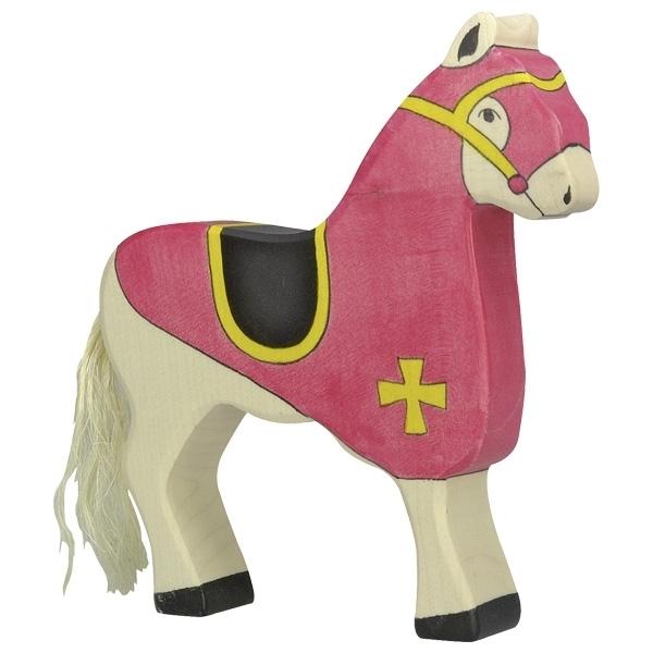 Holtztiger - Cheval du chevalier rouge