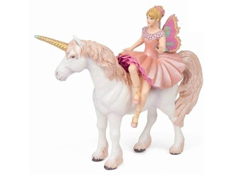 Papo - Ballerine sur sa licorne