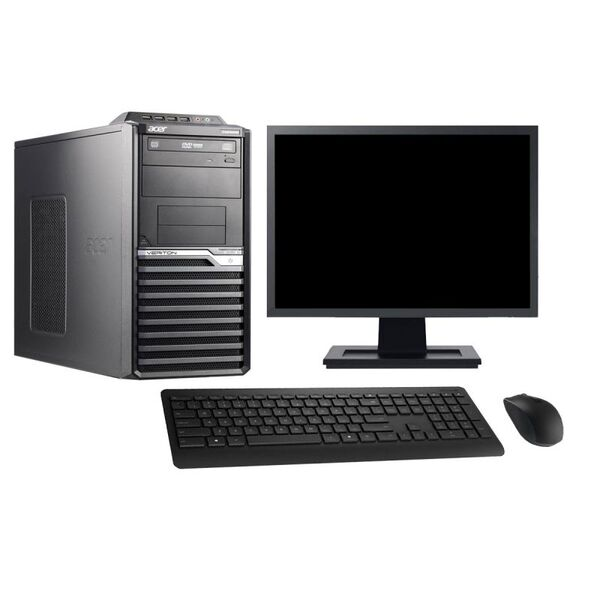 "Acer - Acer M2610G 19"" Intel i3-2120 RAM 4Go SSD 960Go W10 - comme neuf"