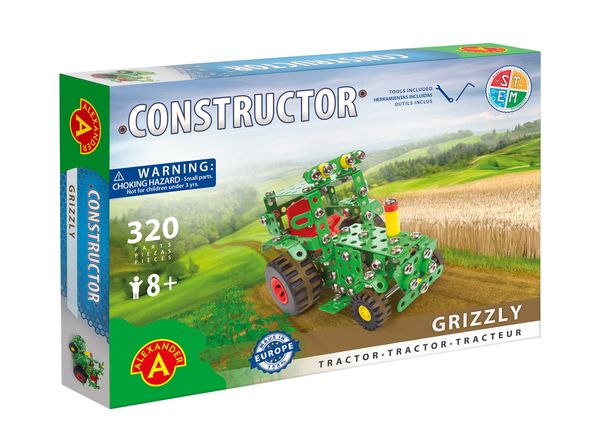 Alexander Toys - Constructor Grizzly - Tracteur