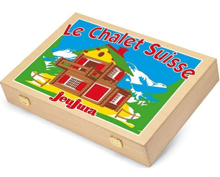 Jeujura - Coffret Mon Chalet en bois 175 pièces