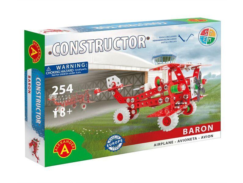 Alexander Toys - Constructor Baron - Avion rétro