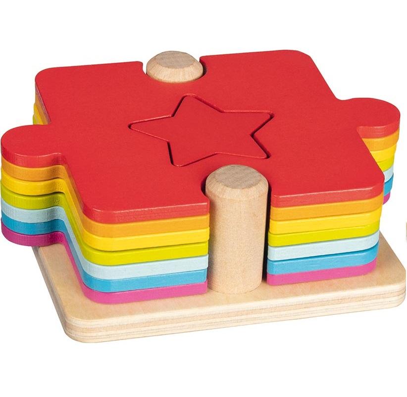 Goki - Puzzle à empiler