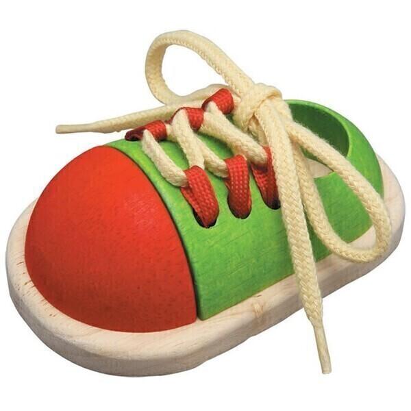 Plan Toys - Chaussure à lacer