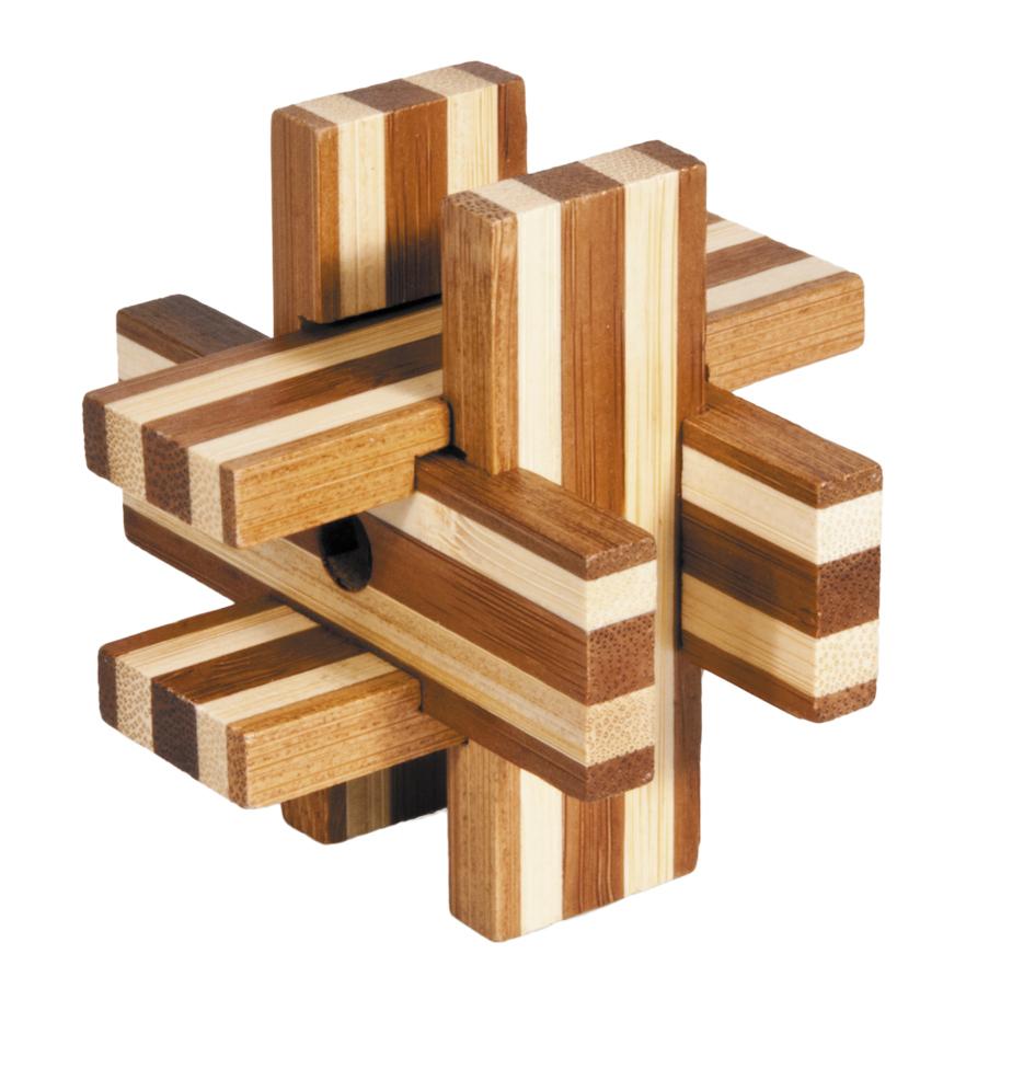 Fridolin - Casse-tête bambou Blocs magiques