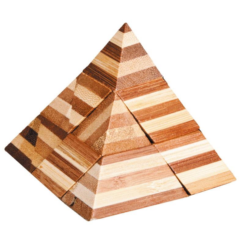 Fridolin - Casse-tête bambou Pyramide