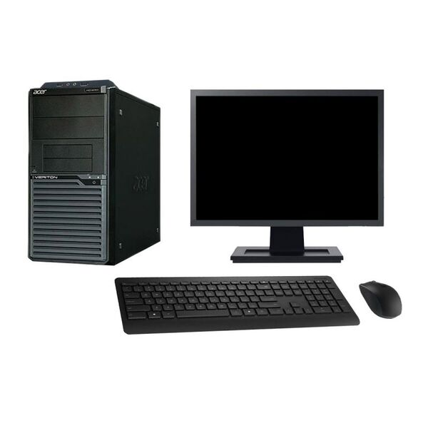 "Acer - Acer M2630G 19"" Intel G3220 RAM 4Go HDD 500Go W10 - comme neuf"