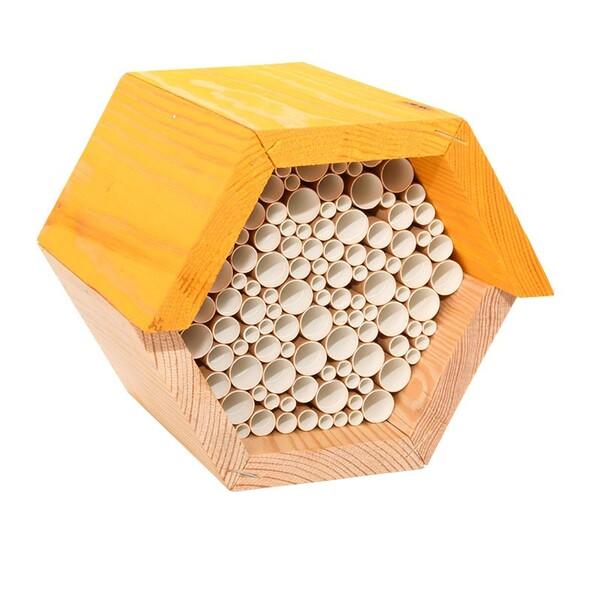 Best for birds - Maison à abeilles hexagonale