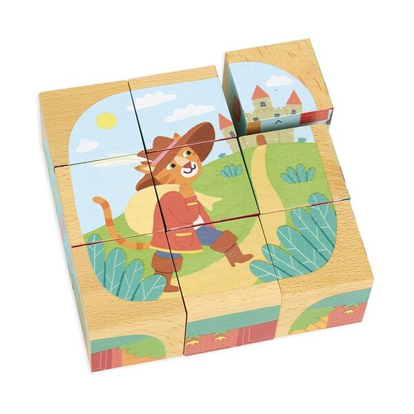 Vilac - Cubes en bois - Les contes
