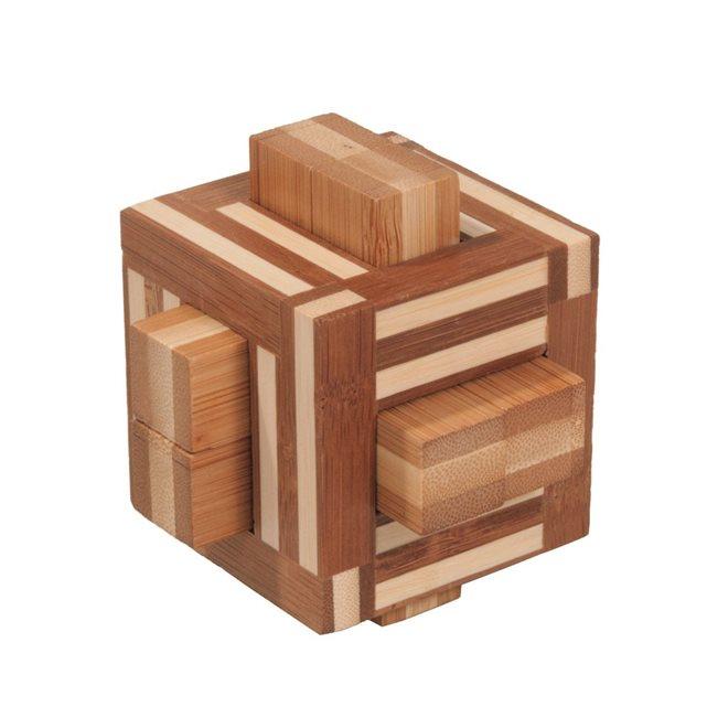 Fridolin - Casse-tête bambou Quadrature
