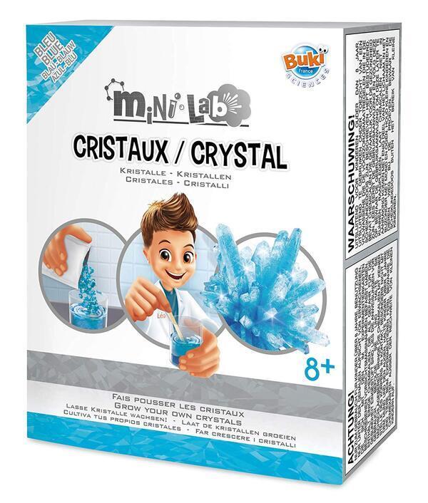 Buki - Mini Lab Cristaux - Bleu