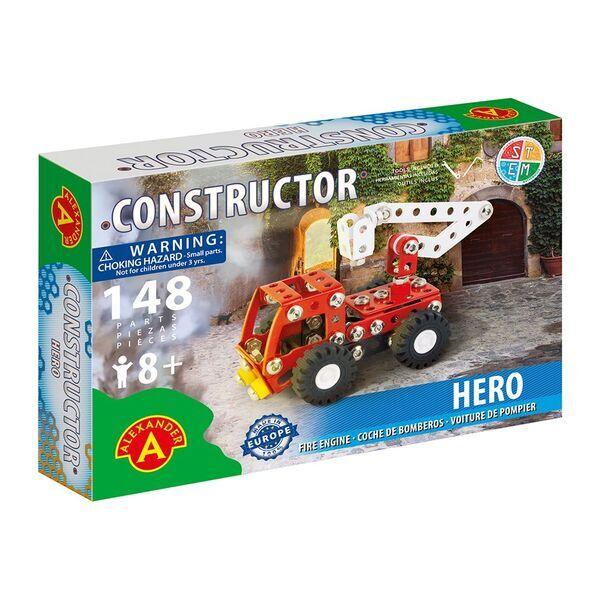 Alexander Toys - Constructor Hero - Camion de pompier