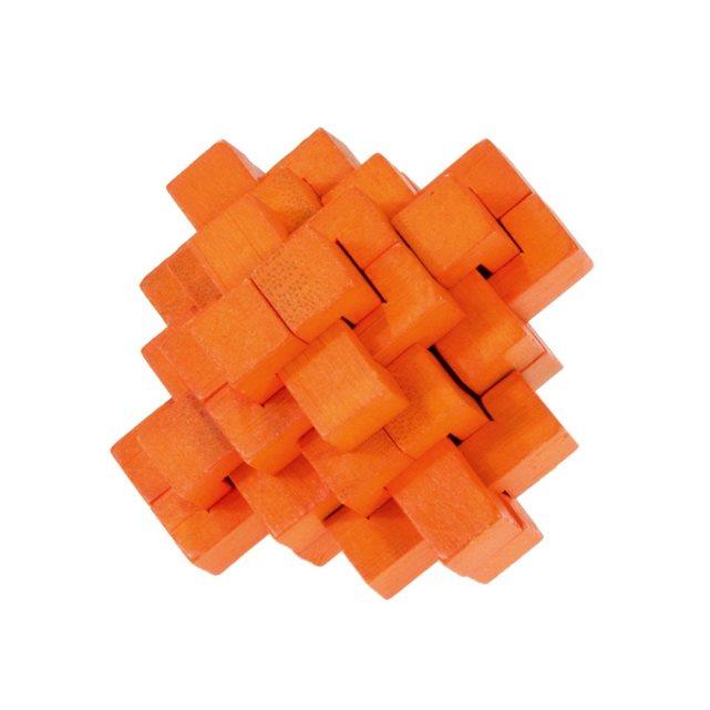 Fridolin - Casse-tête bambou Ananas orange