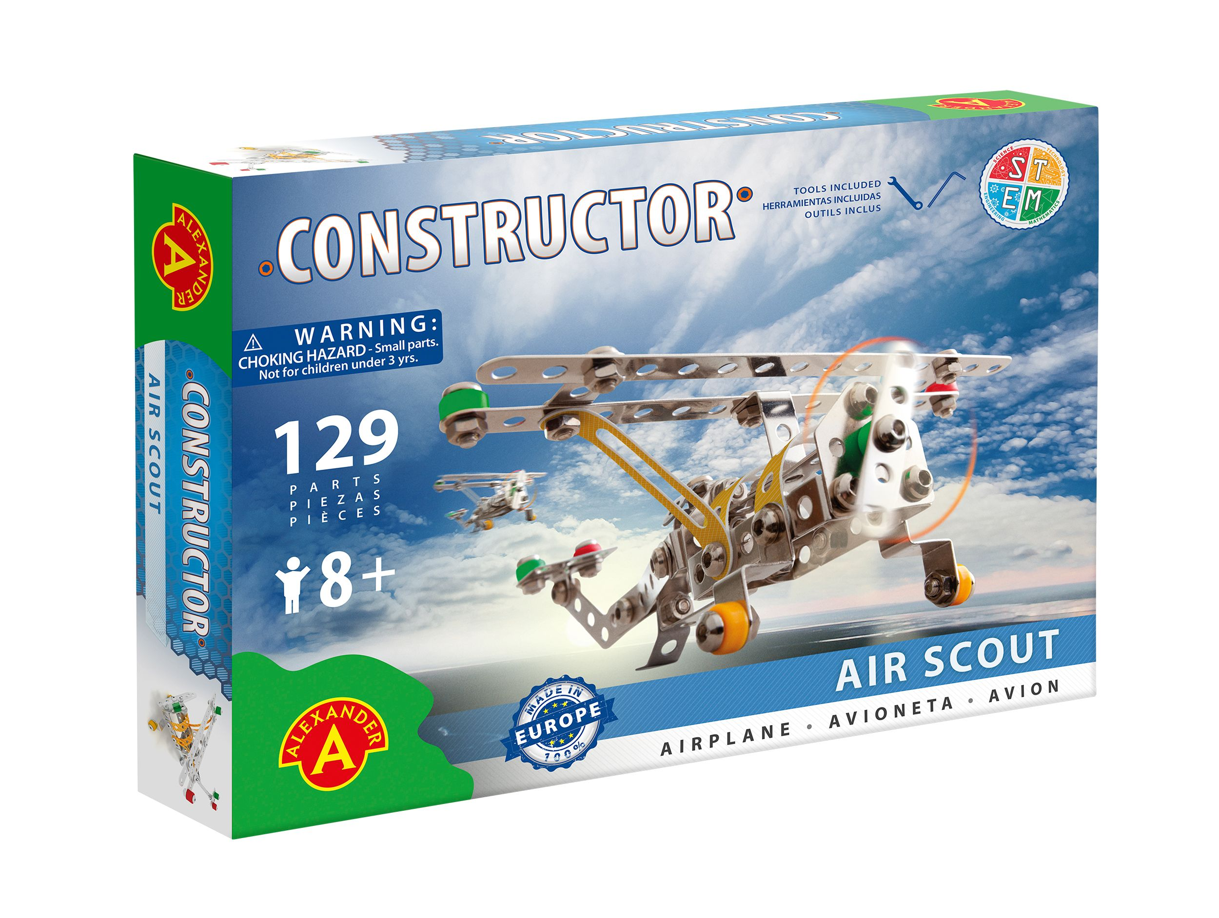 Alexander Toys - Constructor Air Scout - Avion