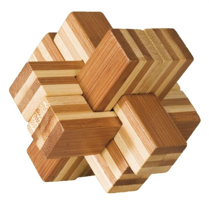 Fridolin - Casse-tête bambou Gros bloc