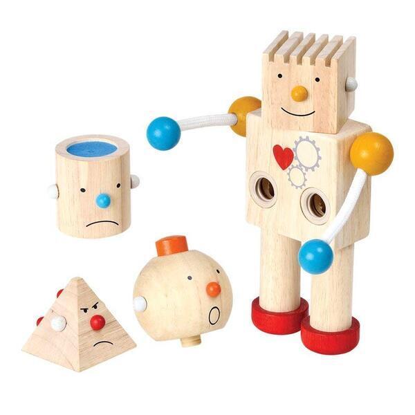 Plan Toys - Robot transformeur