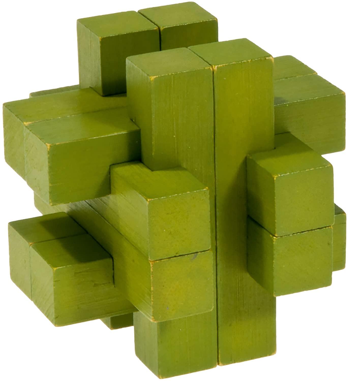 Fridolin - Casse-tête bambou Le bar vert