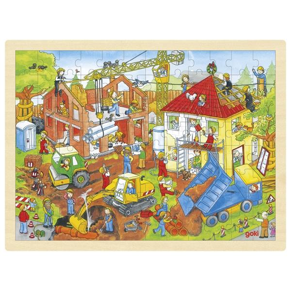 Goki - Puzzle Chantier