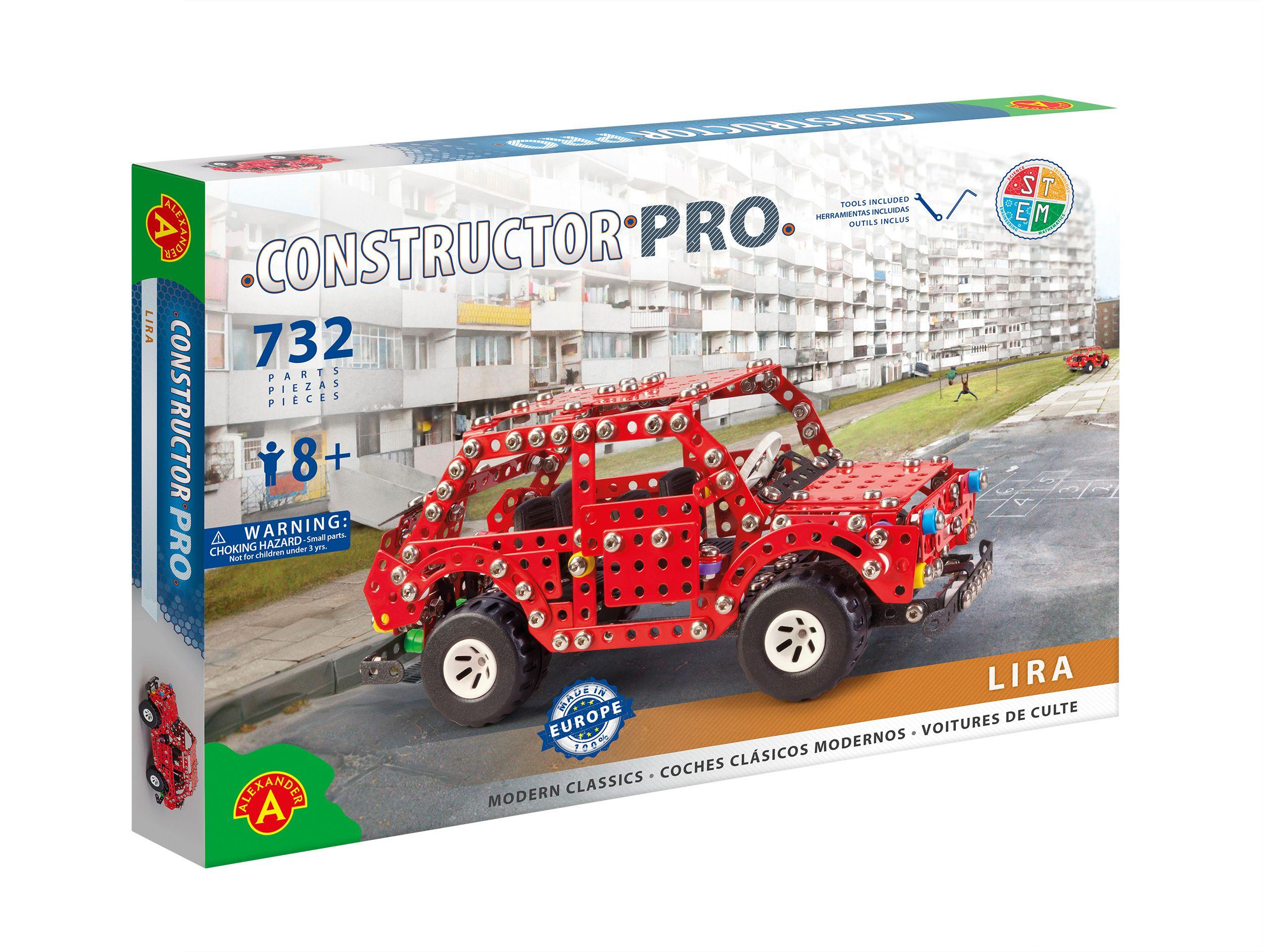 Alexander Toys - Constructor Pro - Voiture Lira