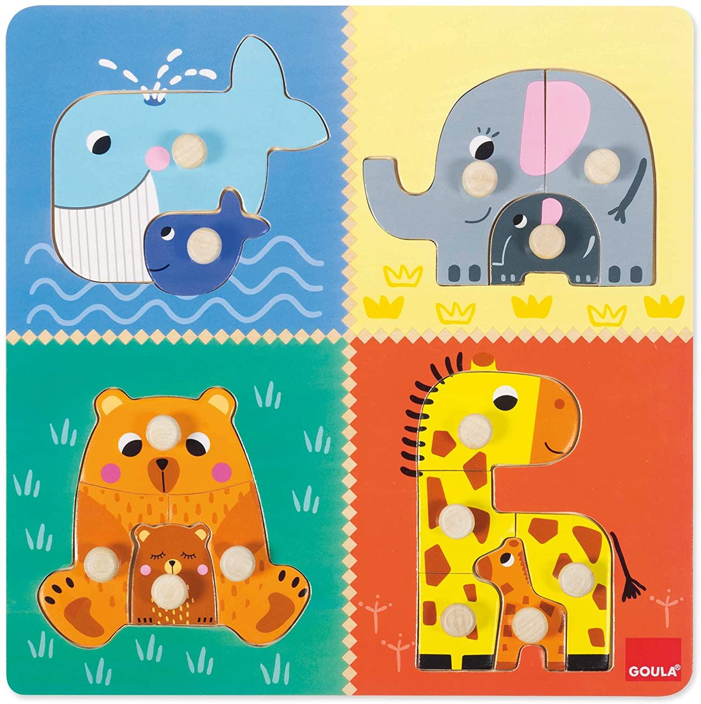 Goula - Puzzle mamans et bébés