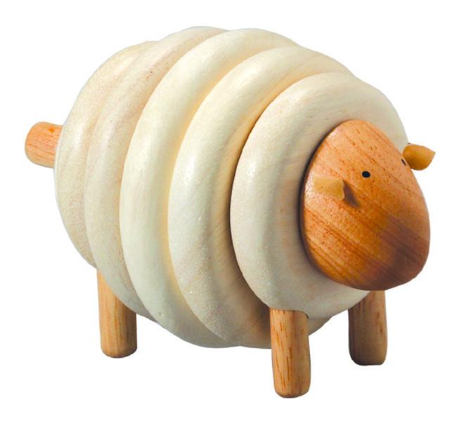 Plan Toys - Mouton à lacer