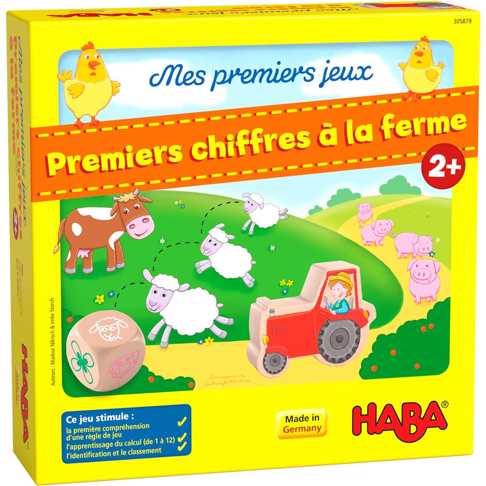 Haba - Premiers chiffres à la ferme - Mes premiers jeux – HABA