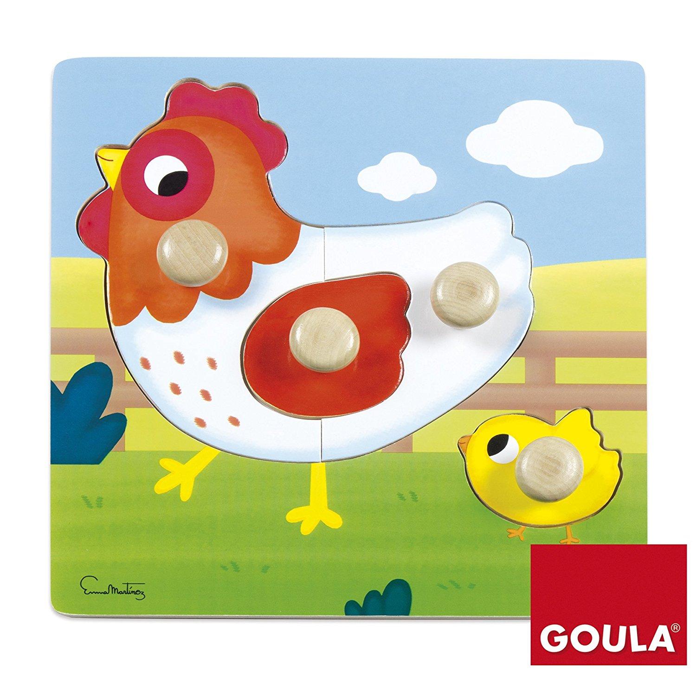 Goula - Puzzle Poule