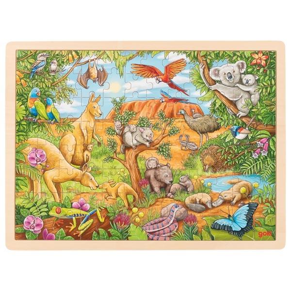 Goki - Puzzle Animaux d'Australie