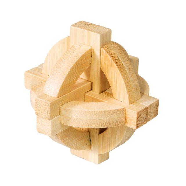 Fridolin - Casse-tête bambou Double disque