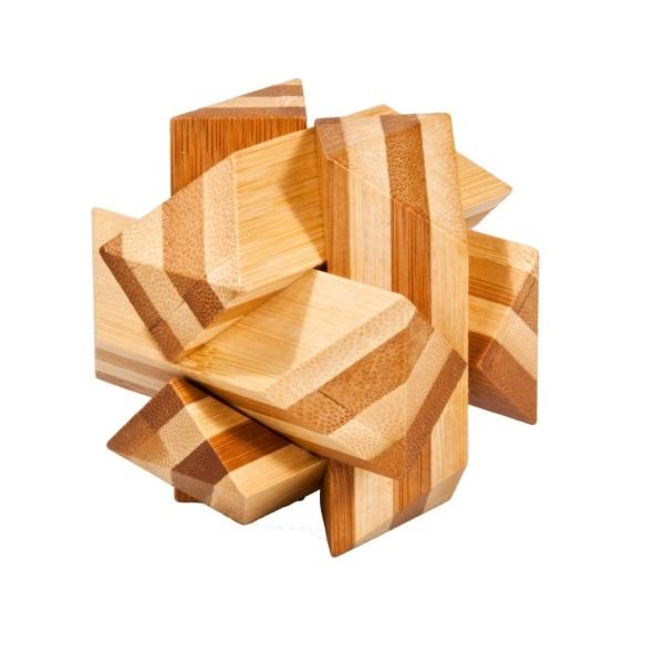 Fridolin - Casse-tête bambou Entrelacs