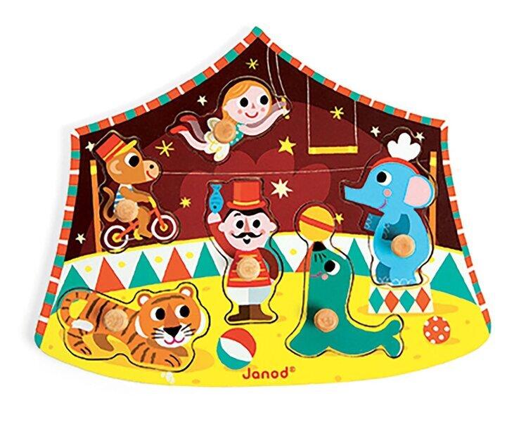 Janod - Puzzle cirque des étoiles
