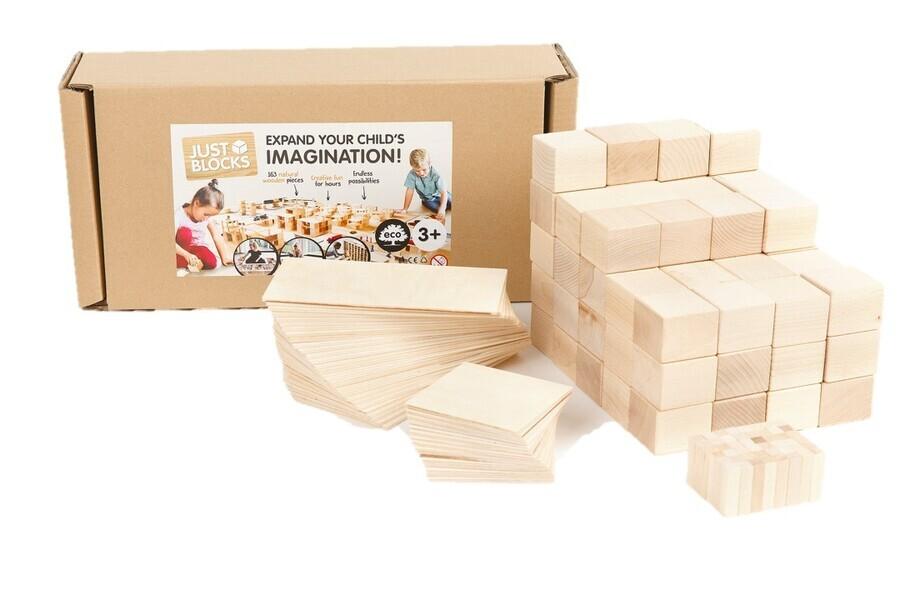 Just Blocks - Medium Pack Just Blocks - 166 pcs