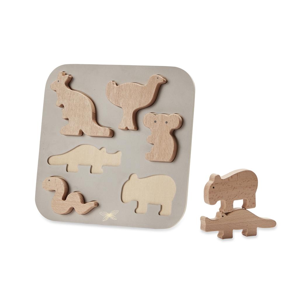 ByAstrup - Puzzle - Animaux d'Australie