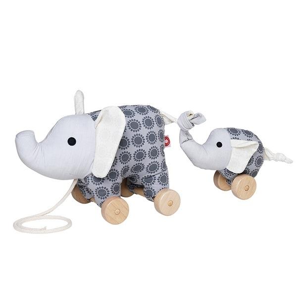 Franck & Fischer - Jouet à tirer - Noma l'éléphant gris