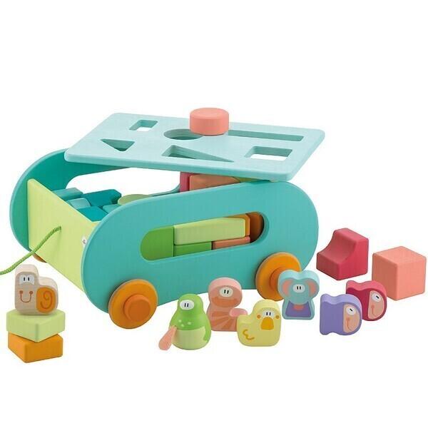 Sevi - Chariot de cubes Étang